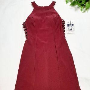 Honey and Rosie Sleeveless Side Lace Up Dress Sz S